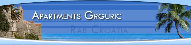 Apartments Grguric - Rab Croatia